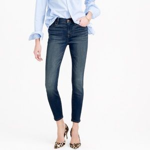J. Crew | Lookout High Rise Skinny Jeans Mariner